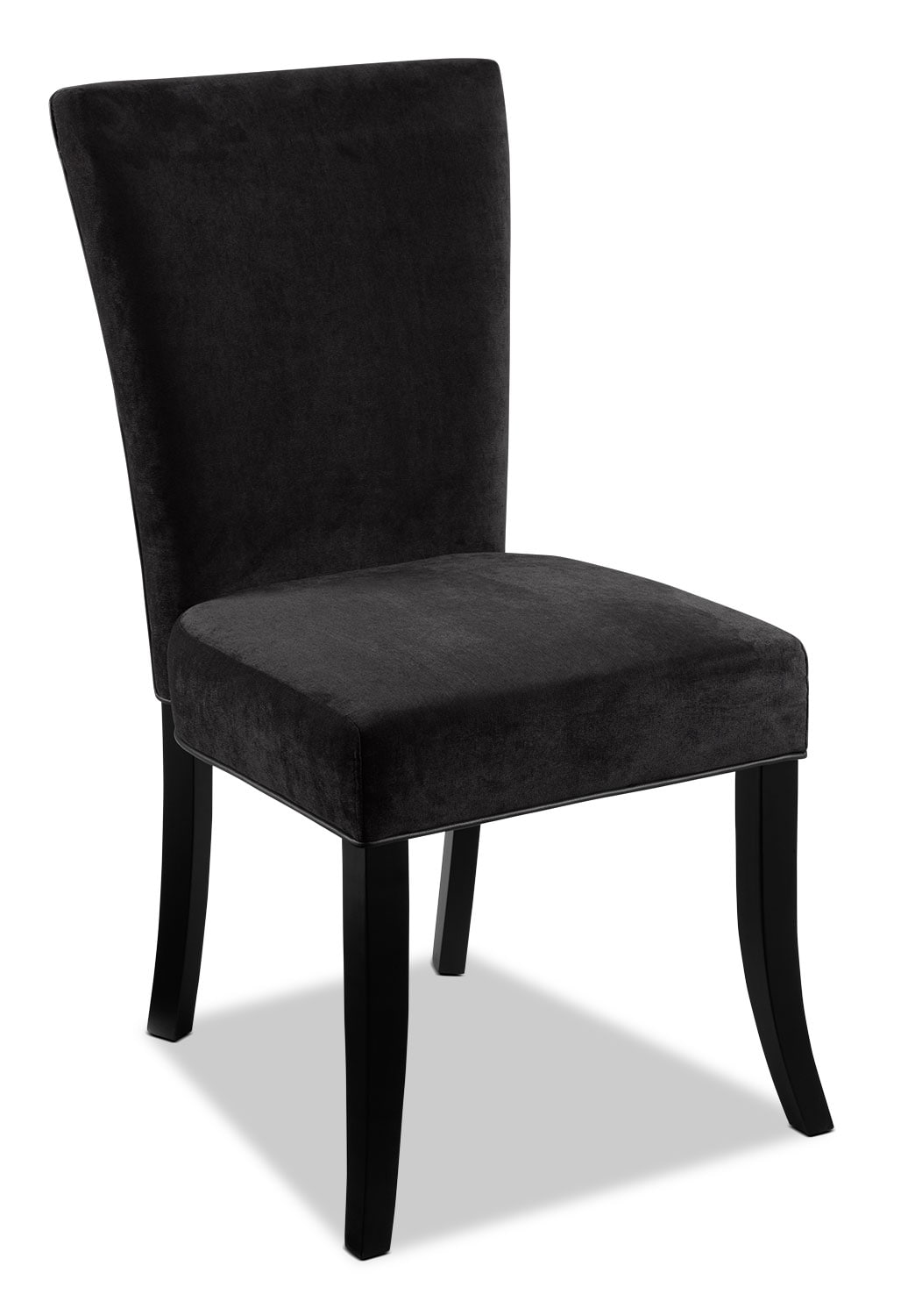 Casual Dining Room Furniture - Astro Side Chair- Charcoal