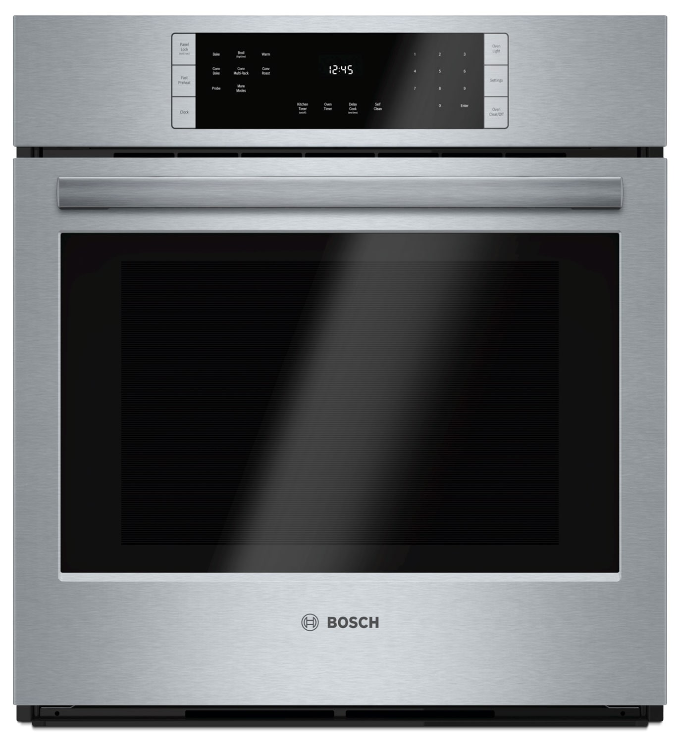 Cooking Products - Bosch Stainless Steel Wall Oven (3.9 Cu. Ft.) - HBN8451UC