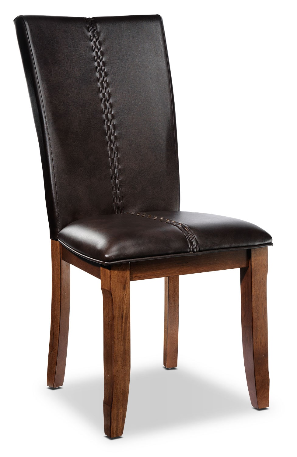 Helix side chair oak leon 39 s for Oak dining room chairs