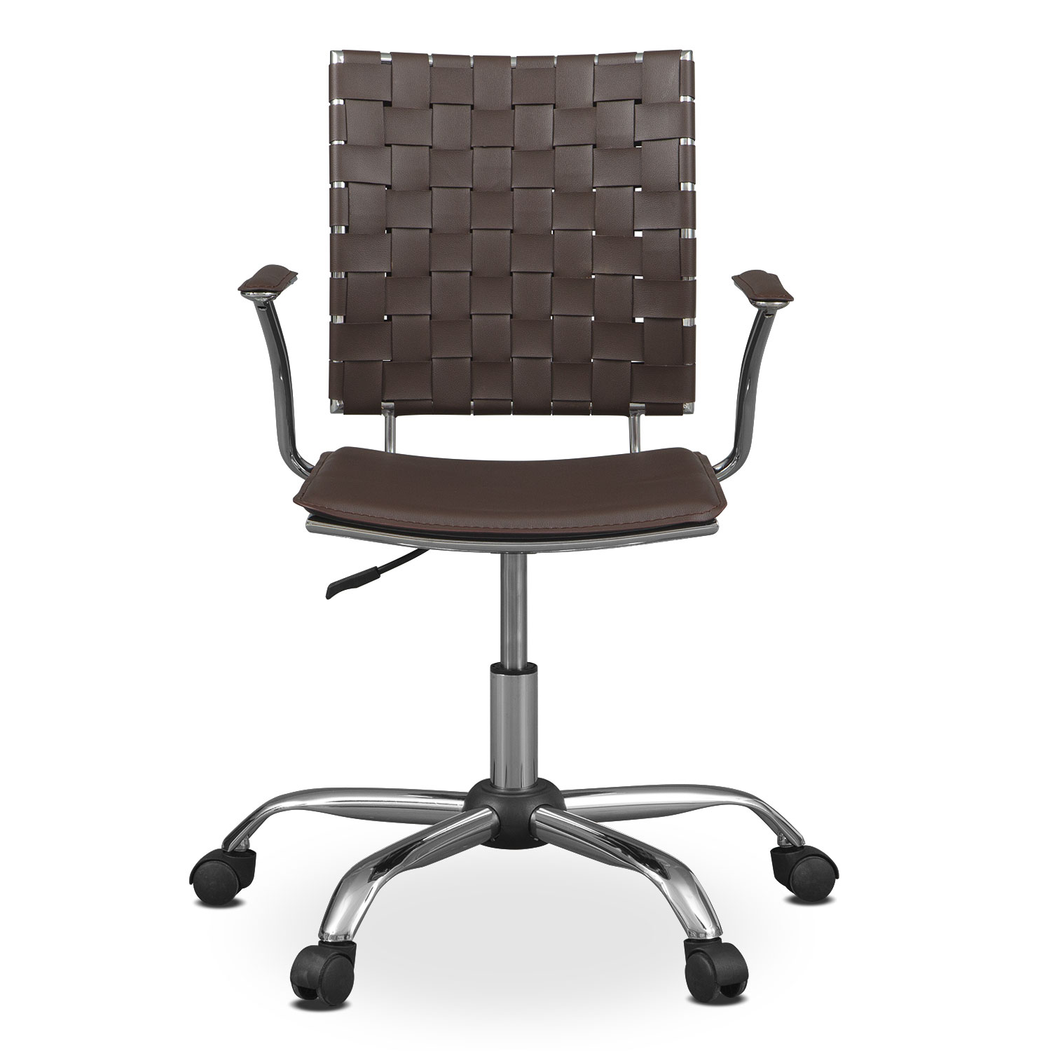 Zeno Office Arm Chair Brown Value City Furniture : 424183 from www.valuecityfurniture.com size 1500 x 1500 jpeg 137kB