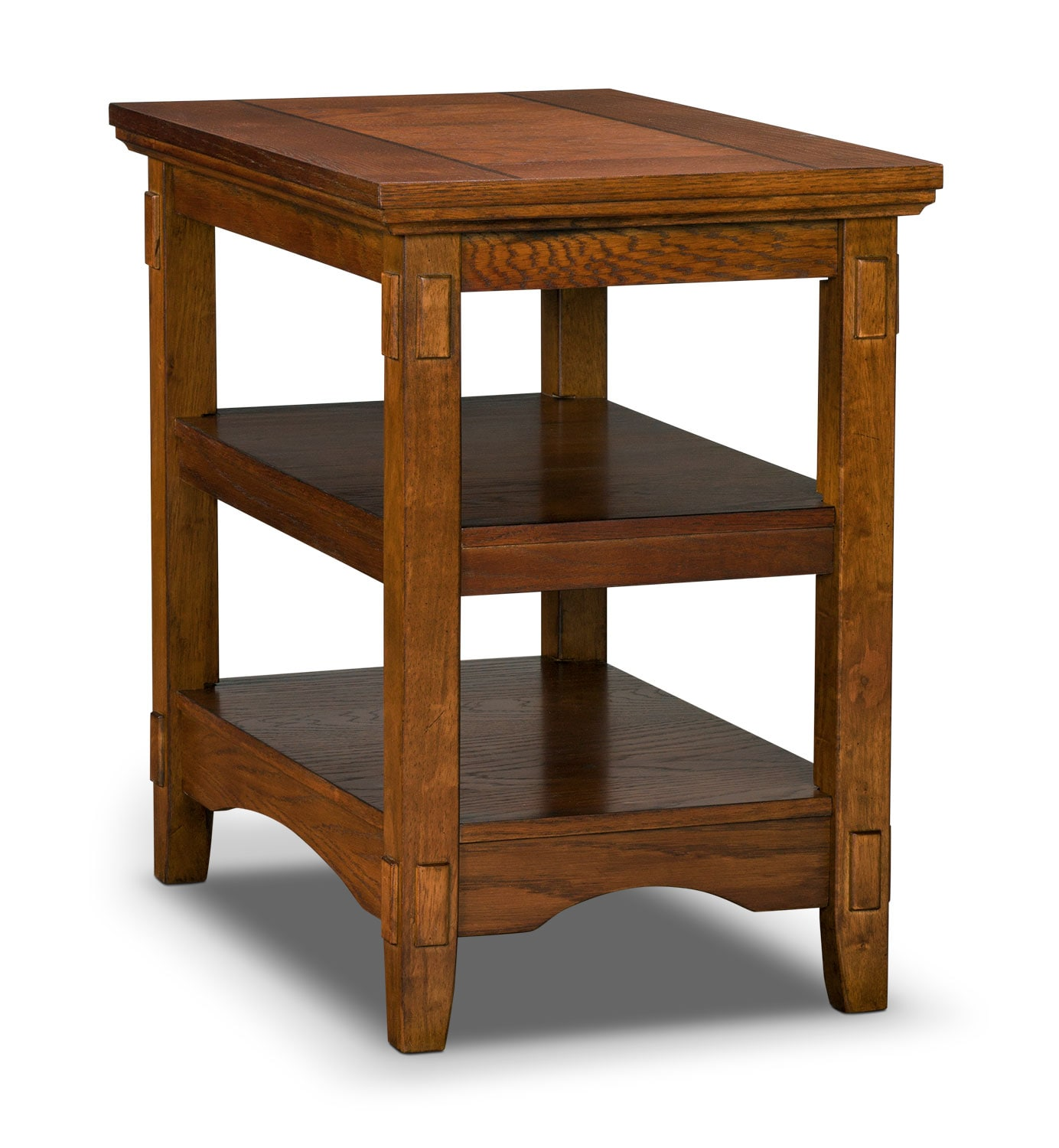 Cross Island Chairside Table