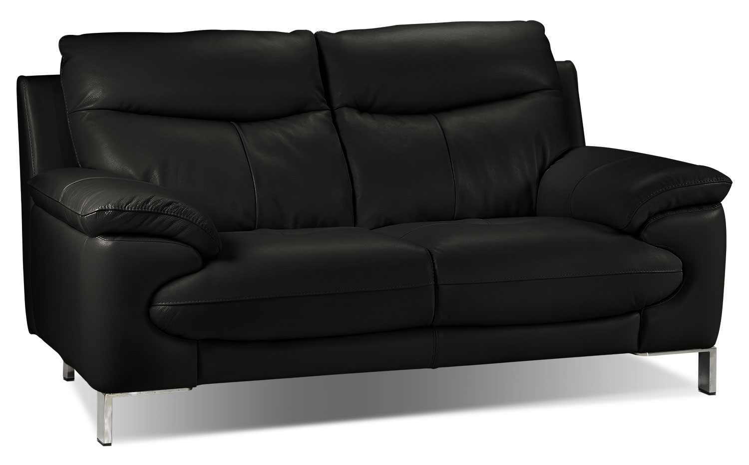 Anika Loveseat - Black