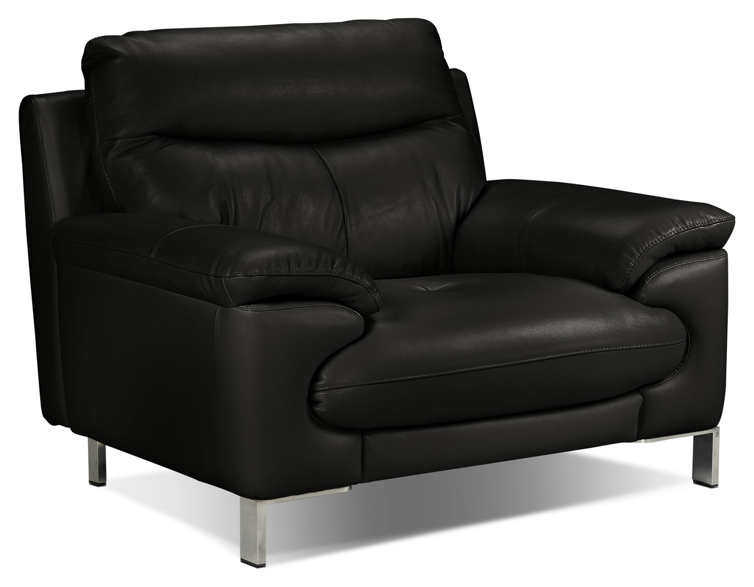 Living Room Furniture - Anika Chair - Black