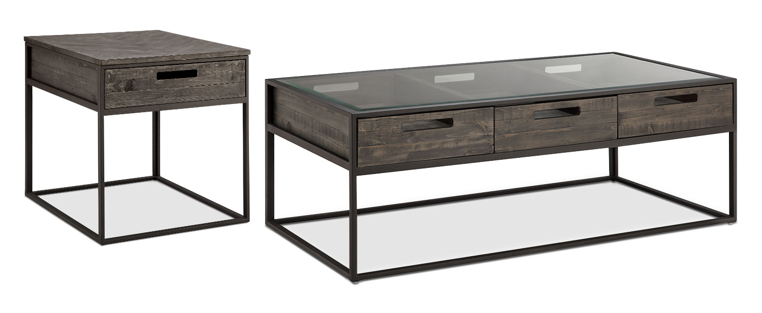 Accent and Occasional Furniture - Calistoga 2-Piece Coffee and End Table Package