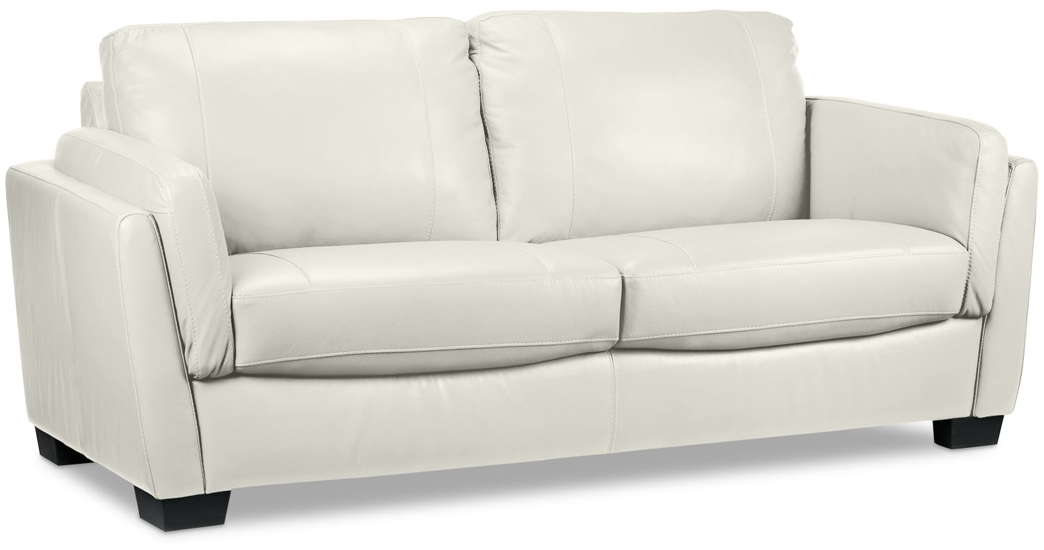 [Isadore Sofa - White]