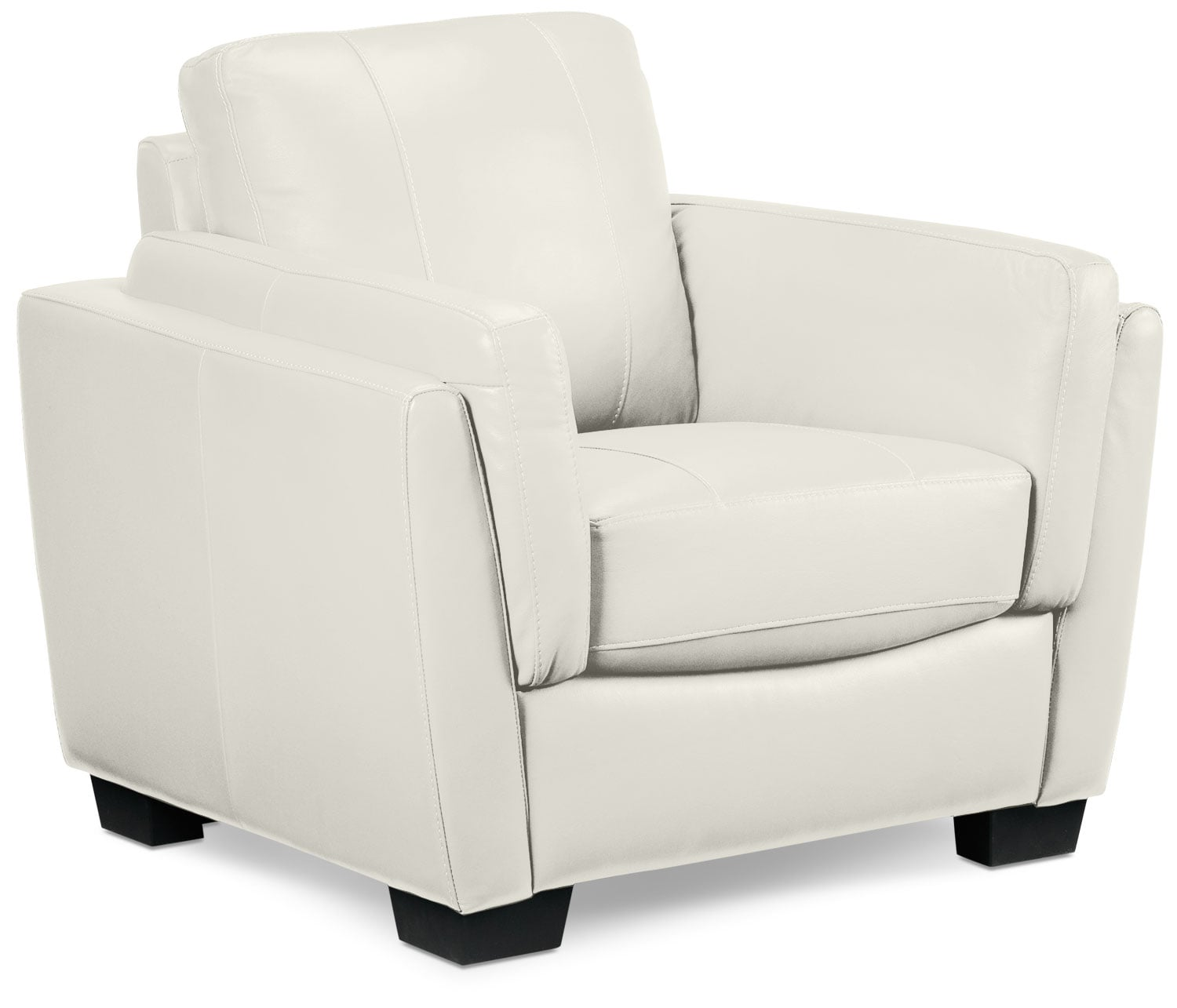 Living Room Furniture - Isadore Chair - White