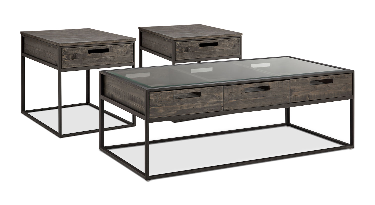 Calistoga 3-Piece Coffee and 2 End Tables Package