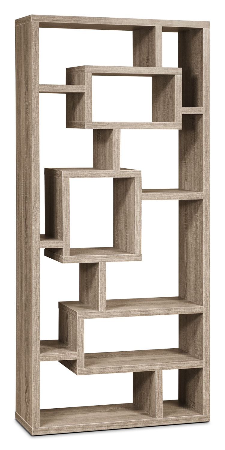 Florence Bookcase Grey The Brick