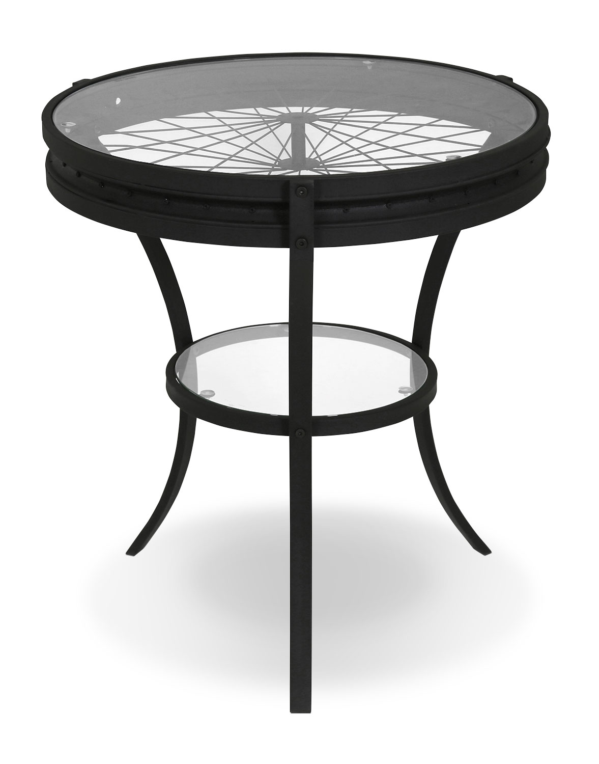 Casa Accent Table – Black