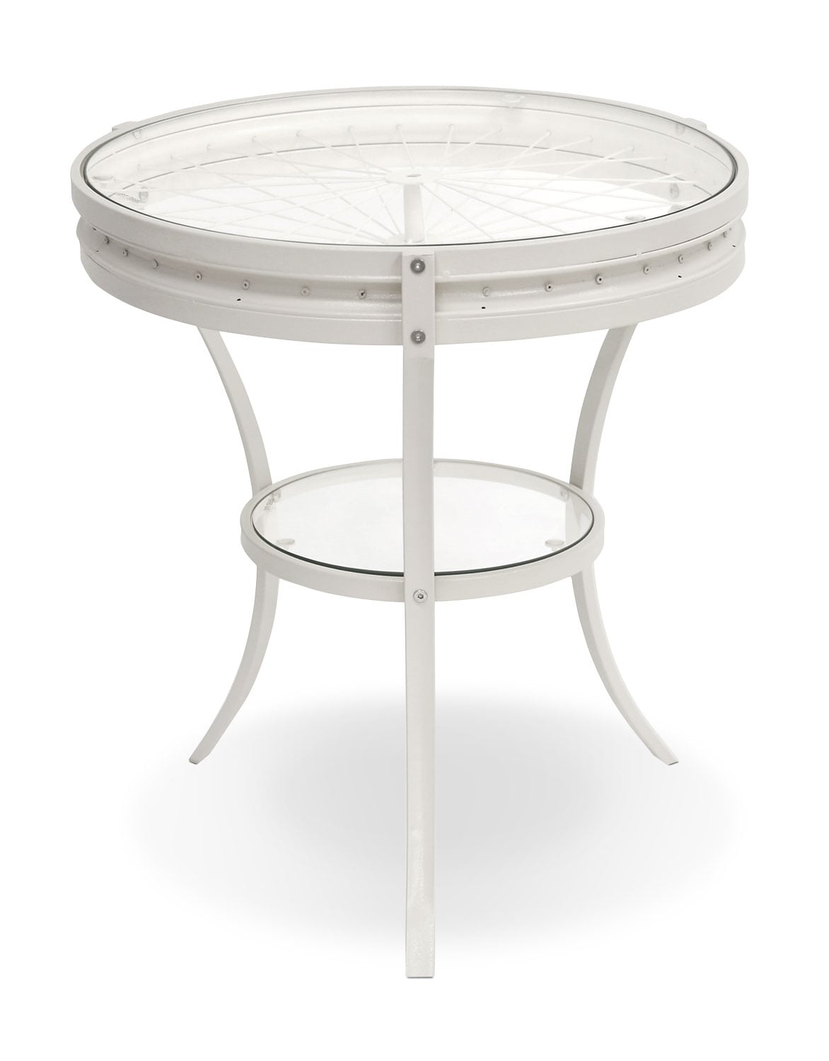 Casa Accent Table – White