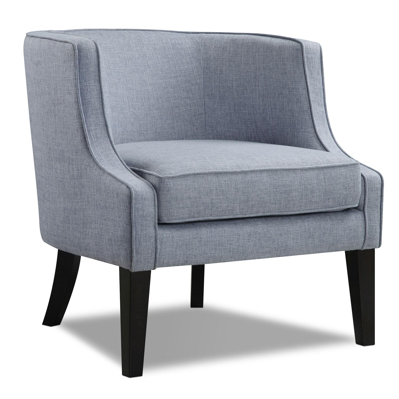 Bradley Accent Chair - Blue