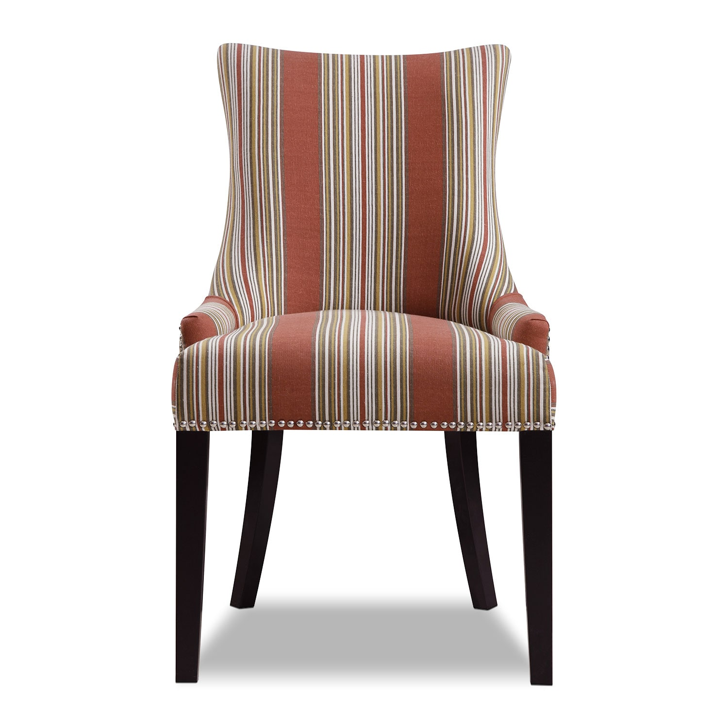 striped accent chair amherst striped accent chair