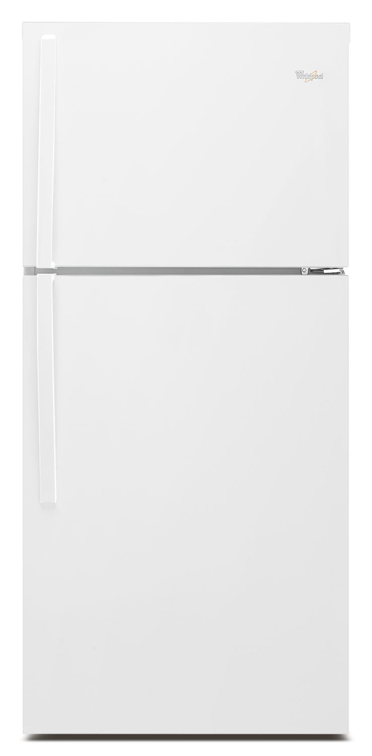 Whirlpool White Top-Freezer Refrigerator (19.2 Cu. Ft.) - WRT519SZDW