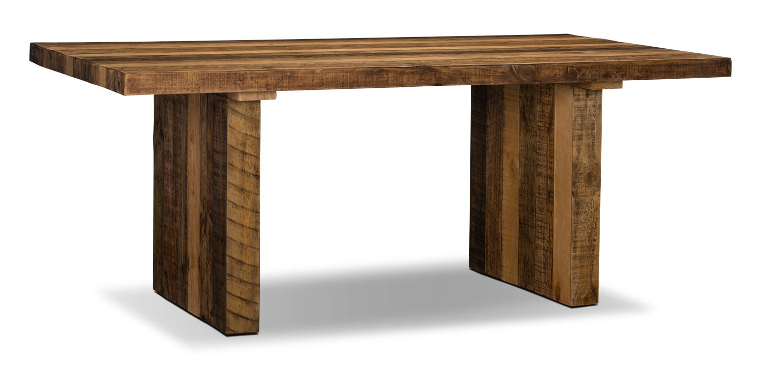 Colby dining table the brick for Dining room tables the brick
