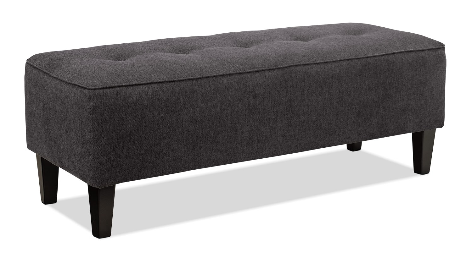 Accent and Occasional Furniture - Ocilla Ottoman – Charcoal