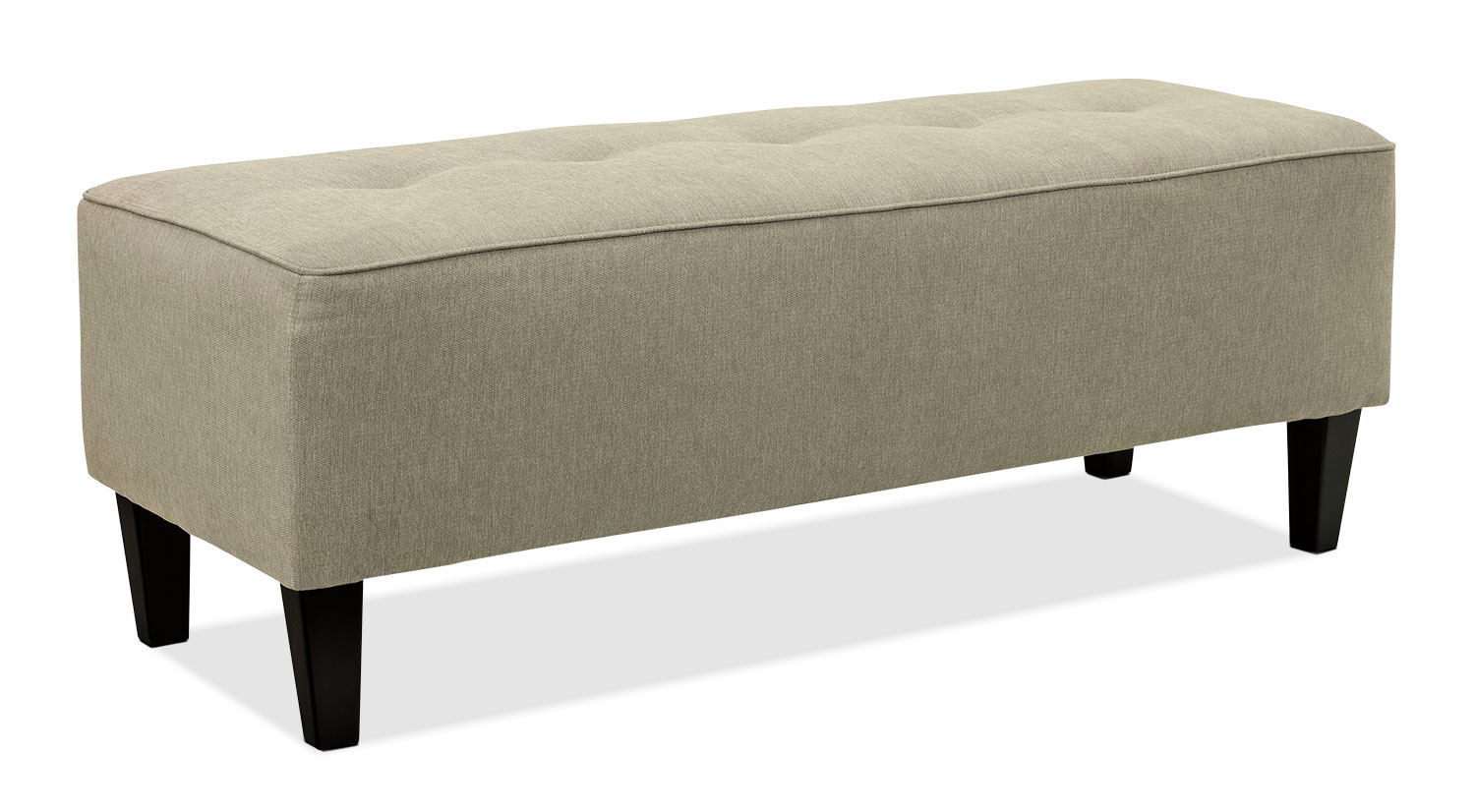 Accent and Occasional Furniture - Ocilla Ottoman – Quartz