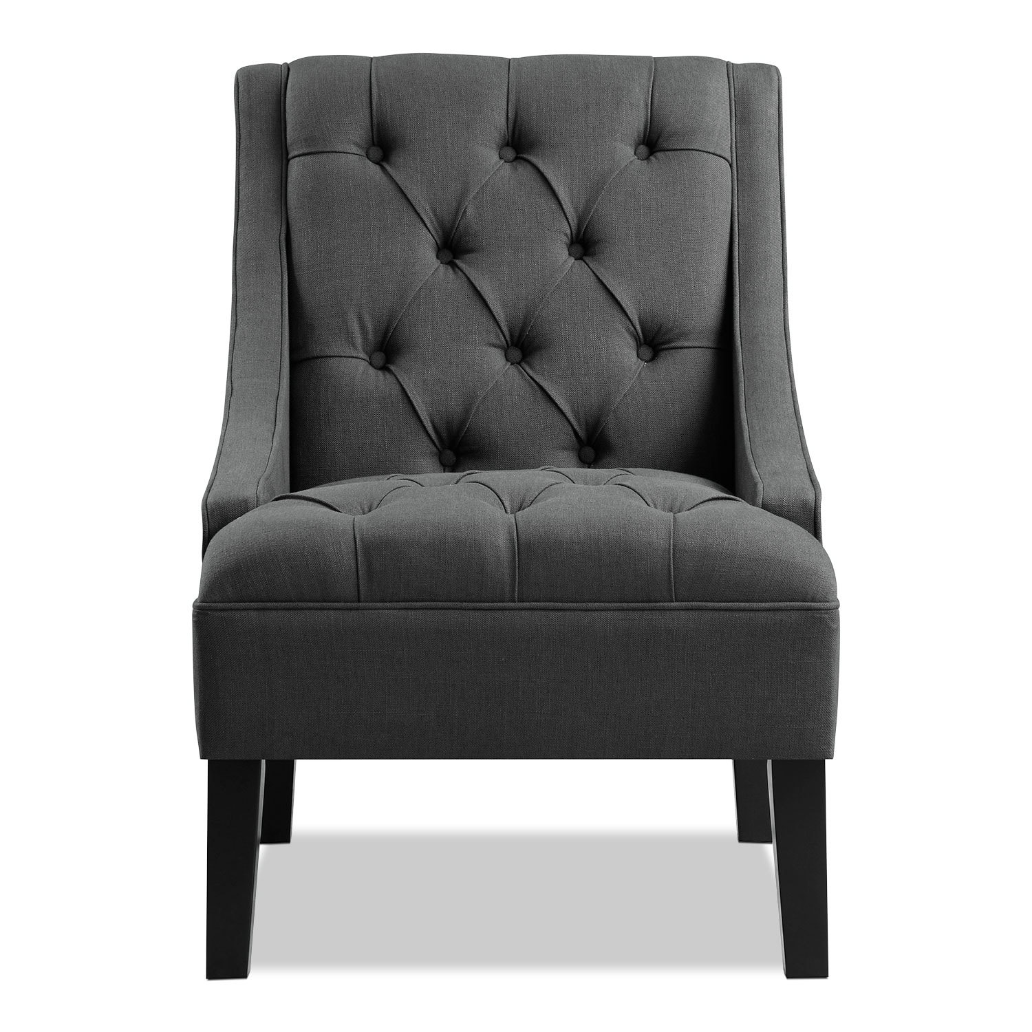 Greylin accent chair gray value city furniture