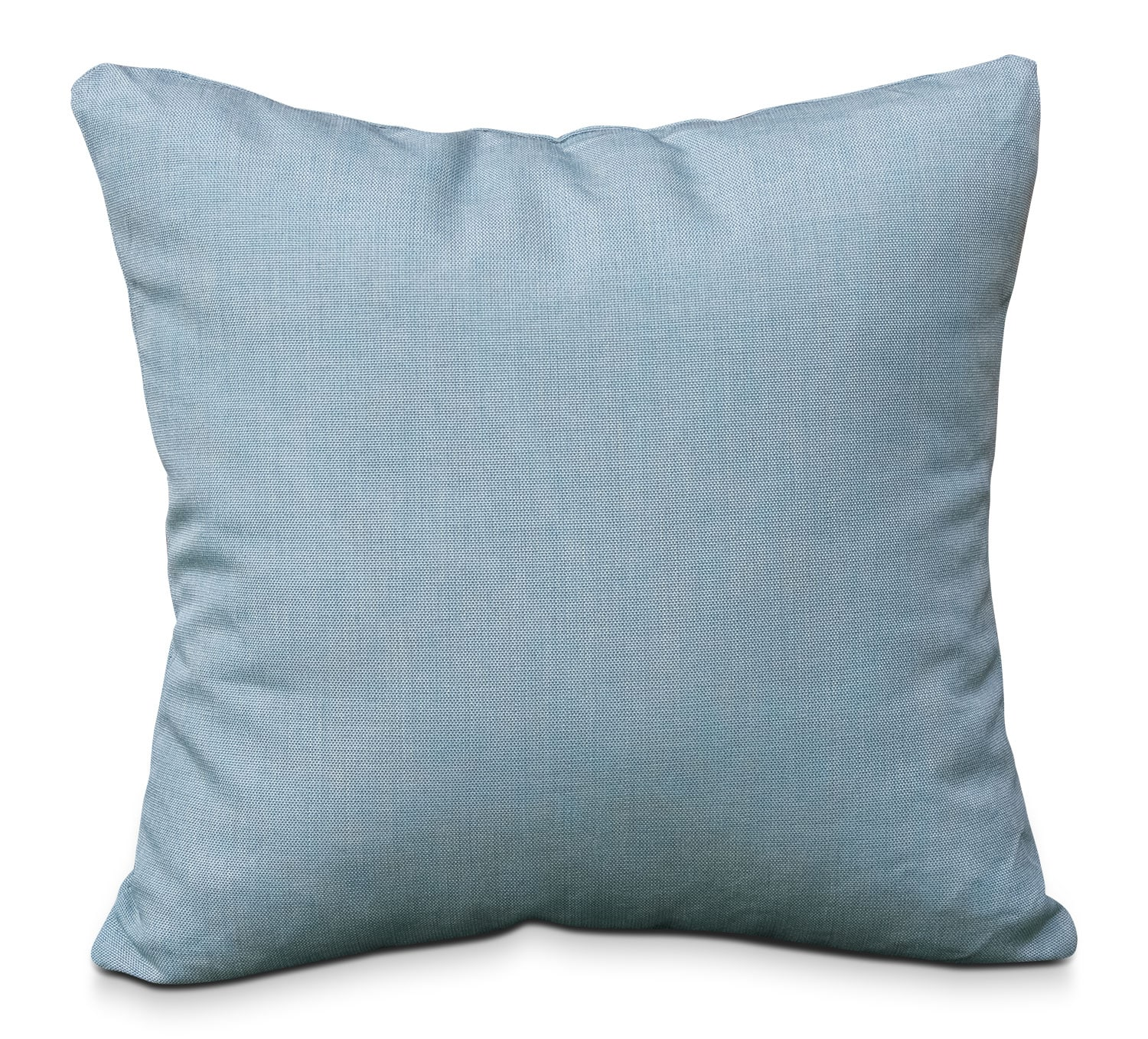 shaw square throw pillow blue  leon's - shaw square throw pillow blue