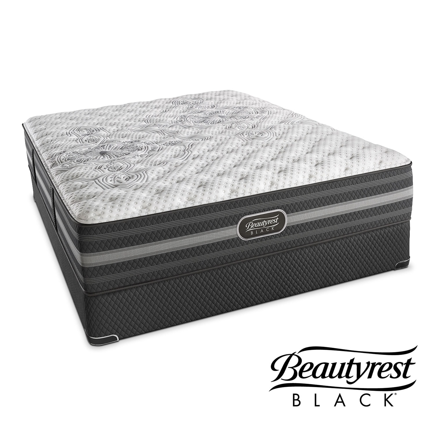 Calista Extra Firm King Mattress And Split Low Profile