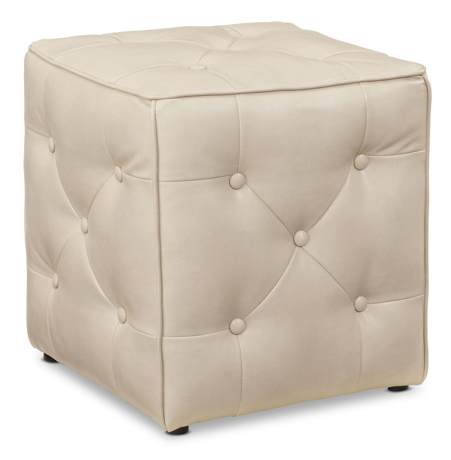 Accent and Occasional Furniture - Calera Ottoman – Taupe