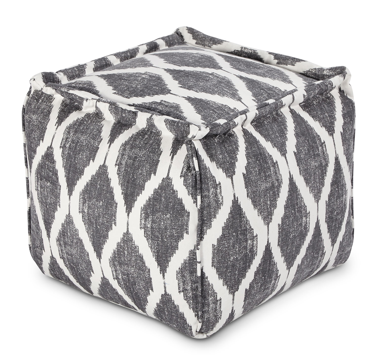 Accent and Occasional Furniture - Fionn Pouf – Grey
