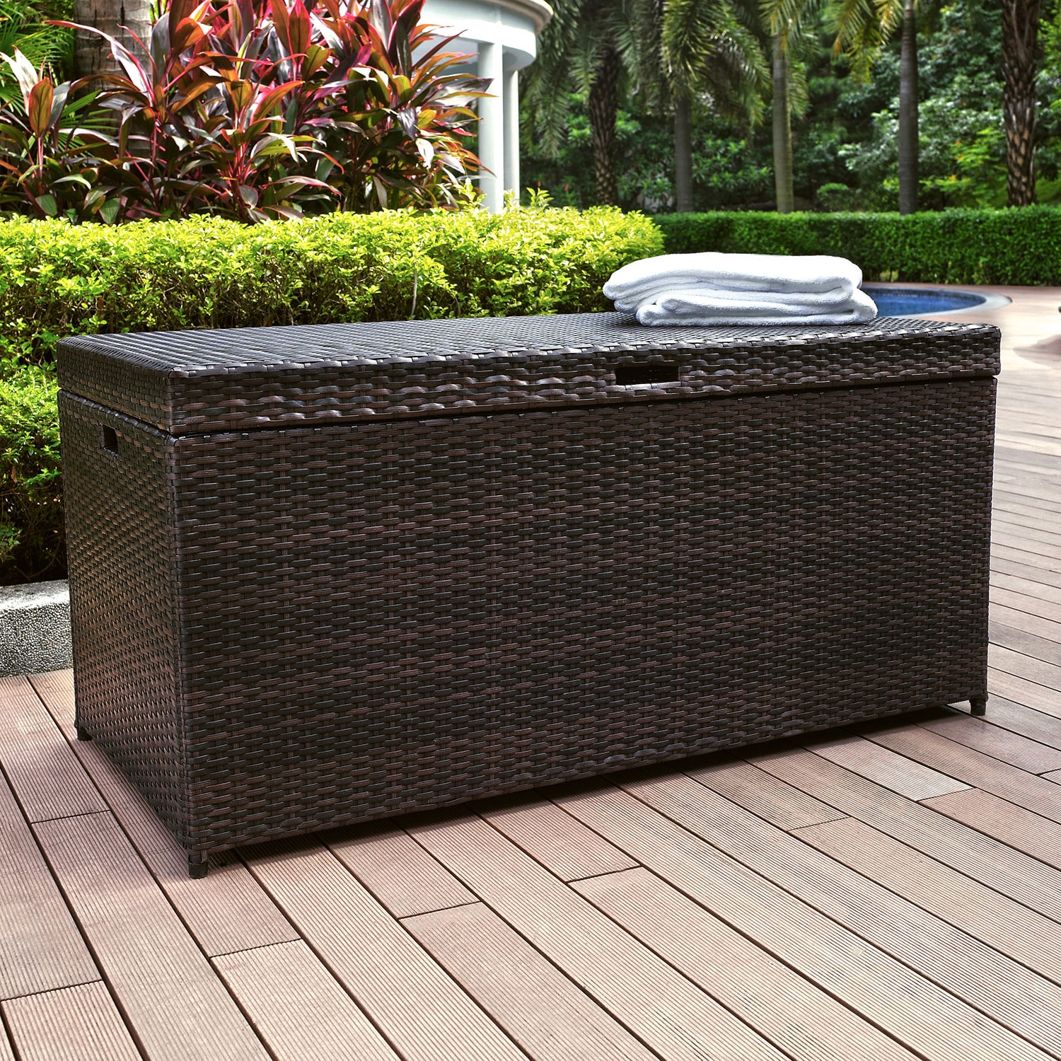 Accent and Occasional Furniture - Palm Harbor Storage Bin