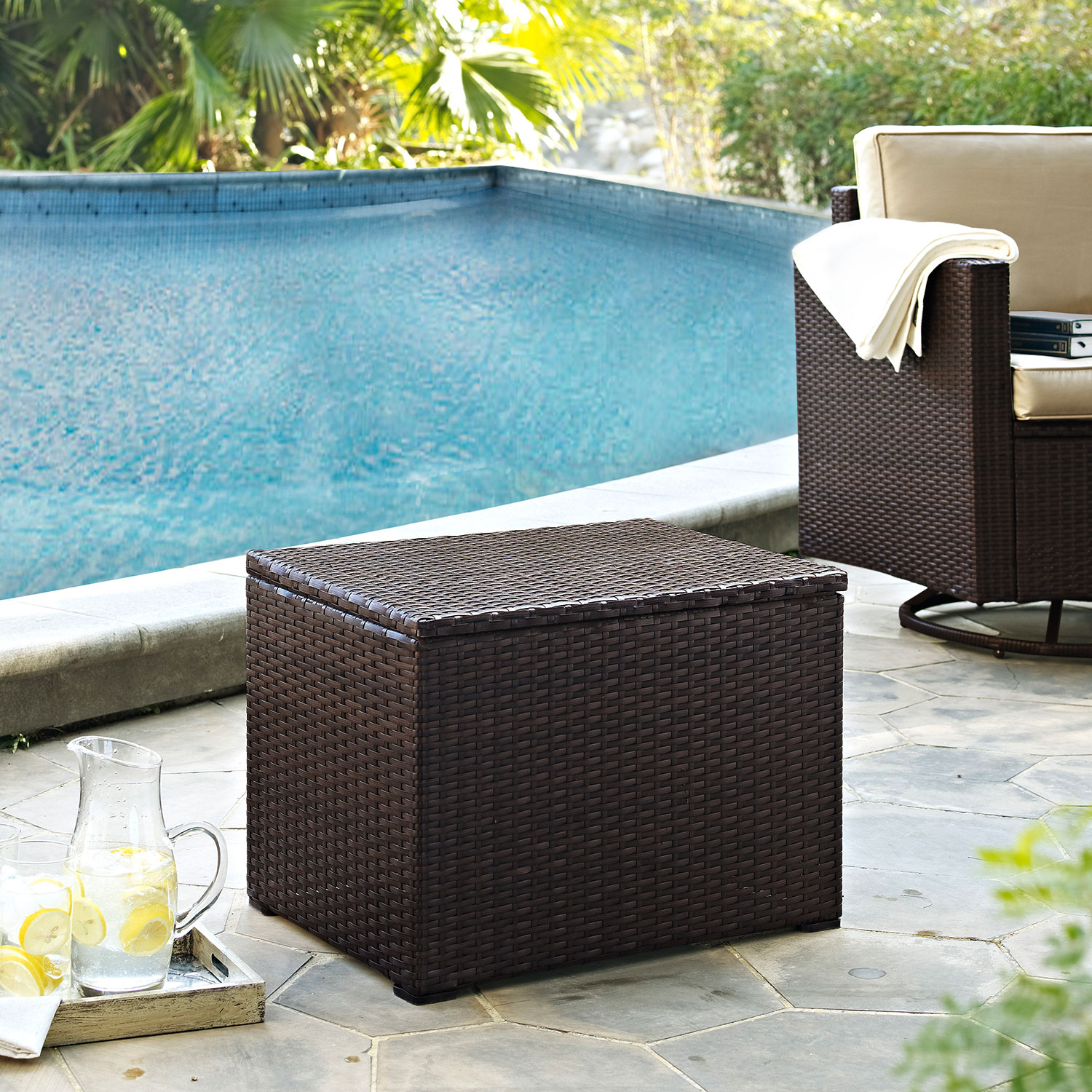 Accent and Occasional Furniture - Palm Harbor Outdoor Cooler