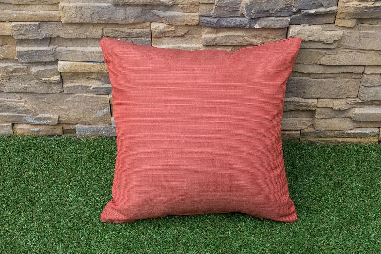 Shaw Square Throw Pillow - Orange