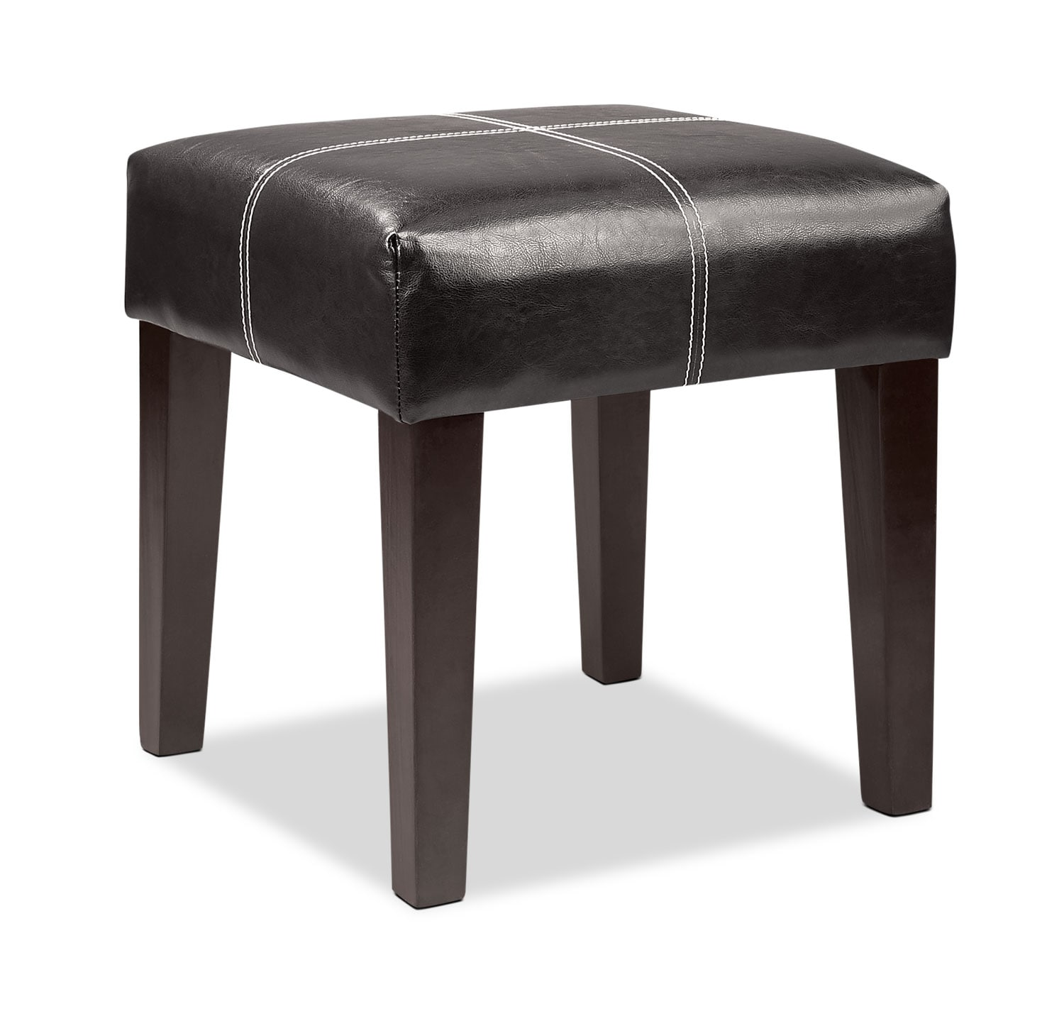 Accent and Occasional Furniture - Lane Ottoman - Black