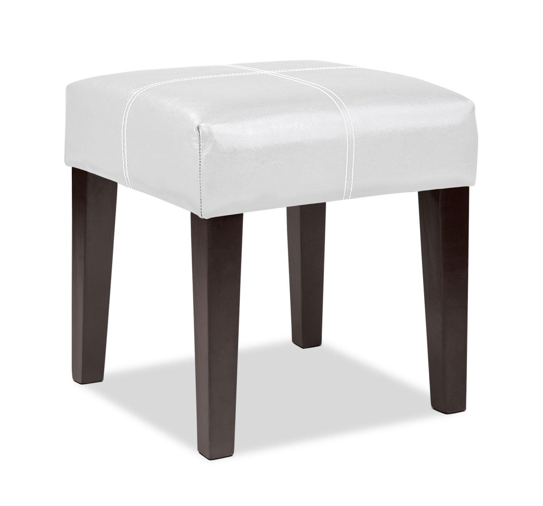 Lane Ottoman - White