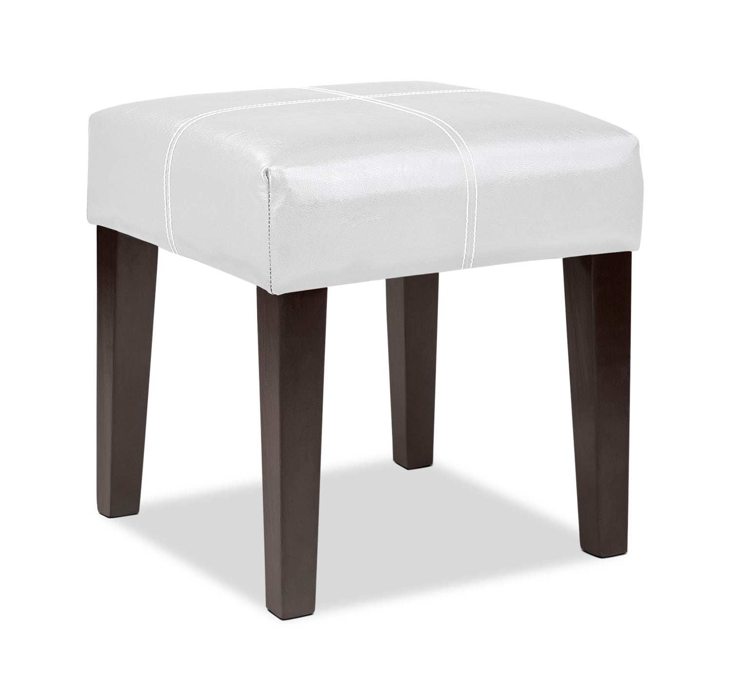 Accent and Occasional Furniture - Lane Ottoman - White