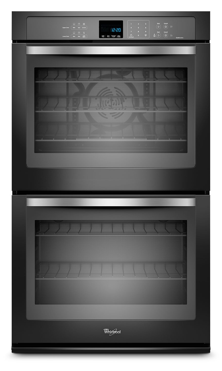 Cooking Products - Whirlpool Gold® 10 Cu. Ft. Double Wall Oven – Black Pearl WOD93EC0AE