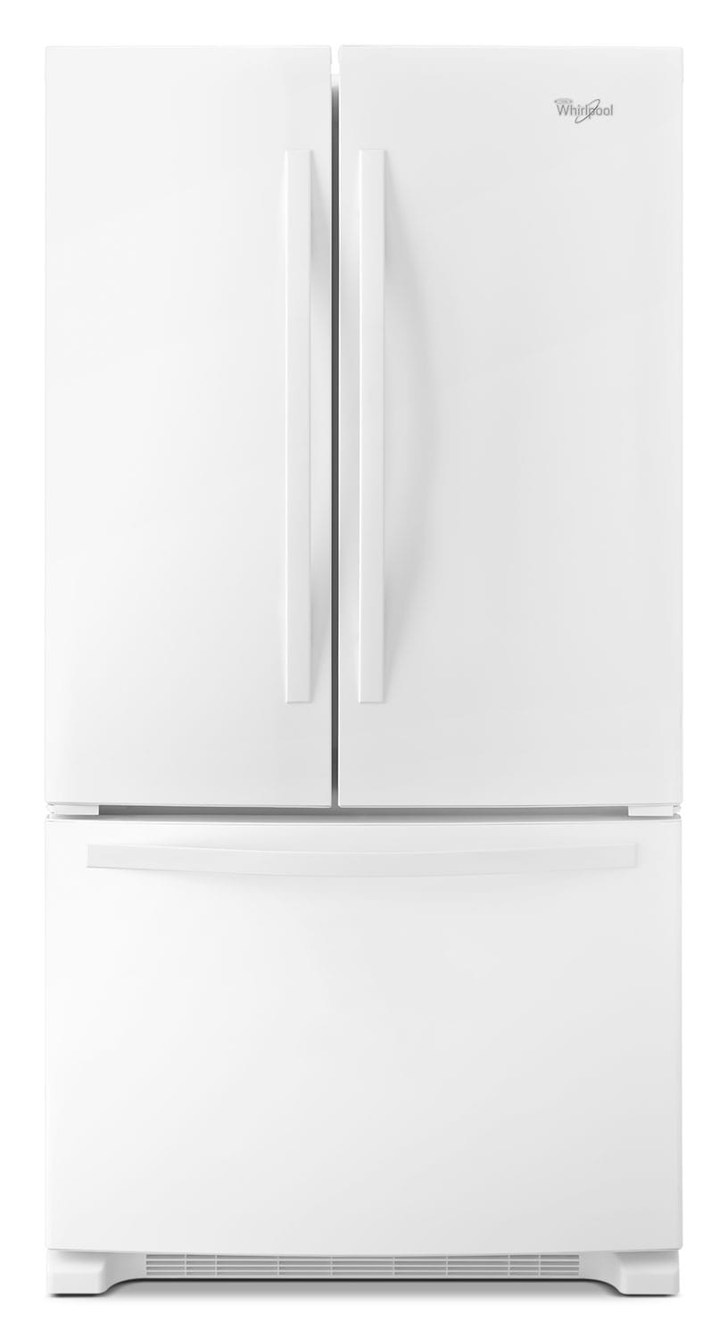 Whirlpool White French Door Refrigerator (22 Cu. Ft.) - WRF532SNBW