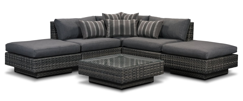 Outdoor Furniture - Key Largo 6-Piece Patio Set
