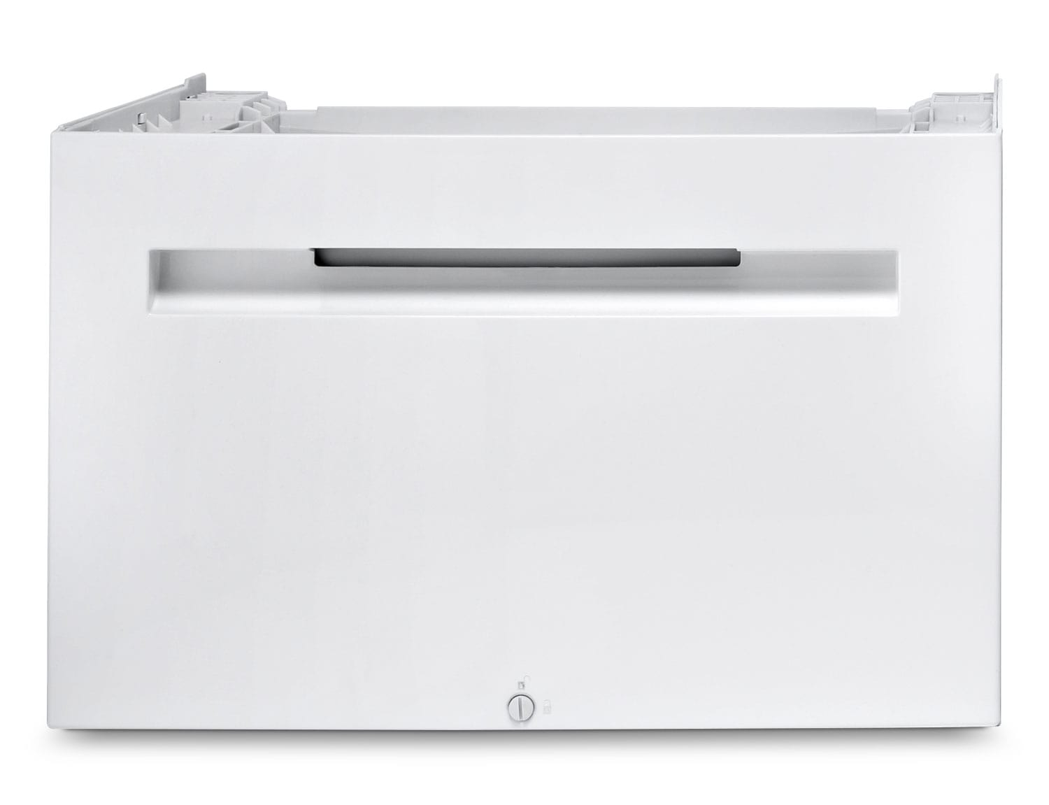 Bosch Washer Pedestal with Storage Drawer – White