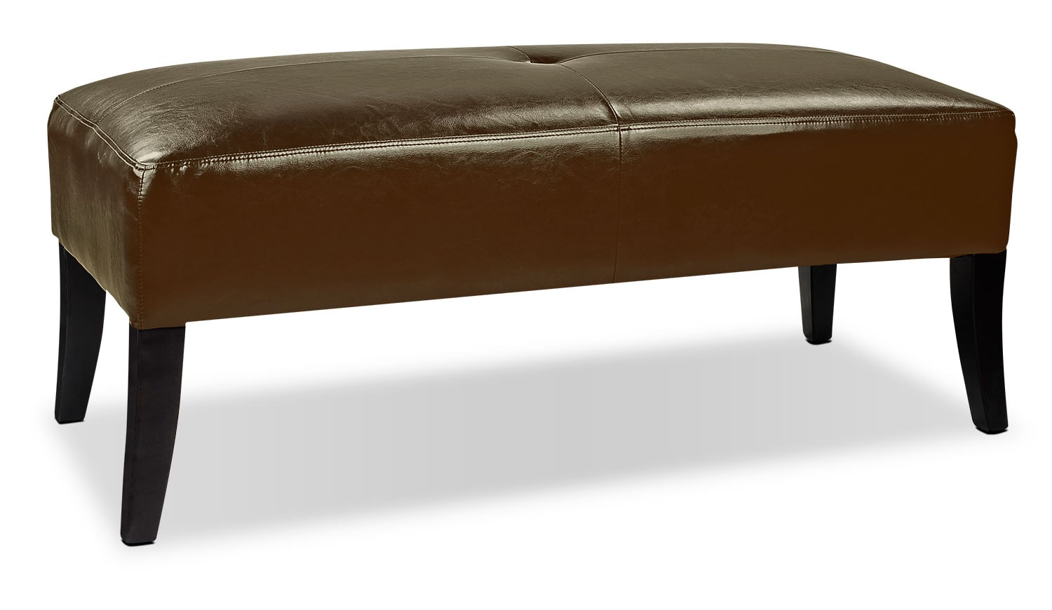 Accent and Occasional Furniture - Mila Ottoman - Brown