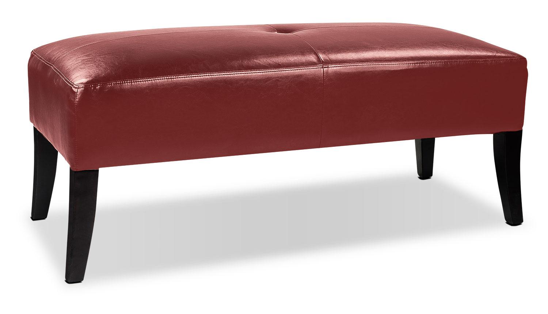 Mila Ottoman - Red