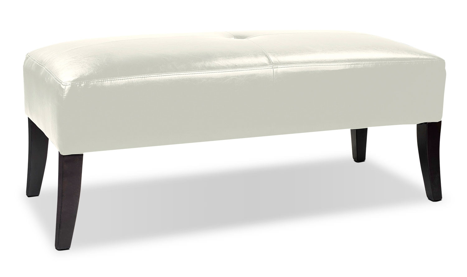 Accent and Occasional Furniture - Mila Ottoman - White