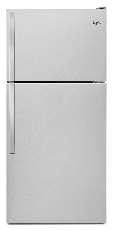 Whirlpool Stainless Steel Top-Freezer Refrigerator (18.25 Cu. Ft.) - WRT148FZDM