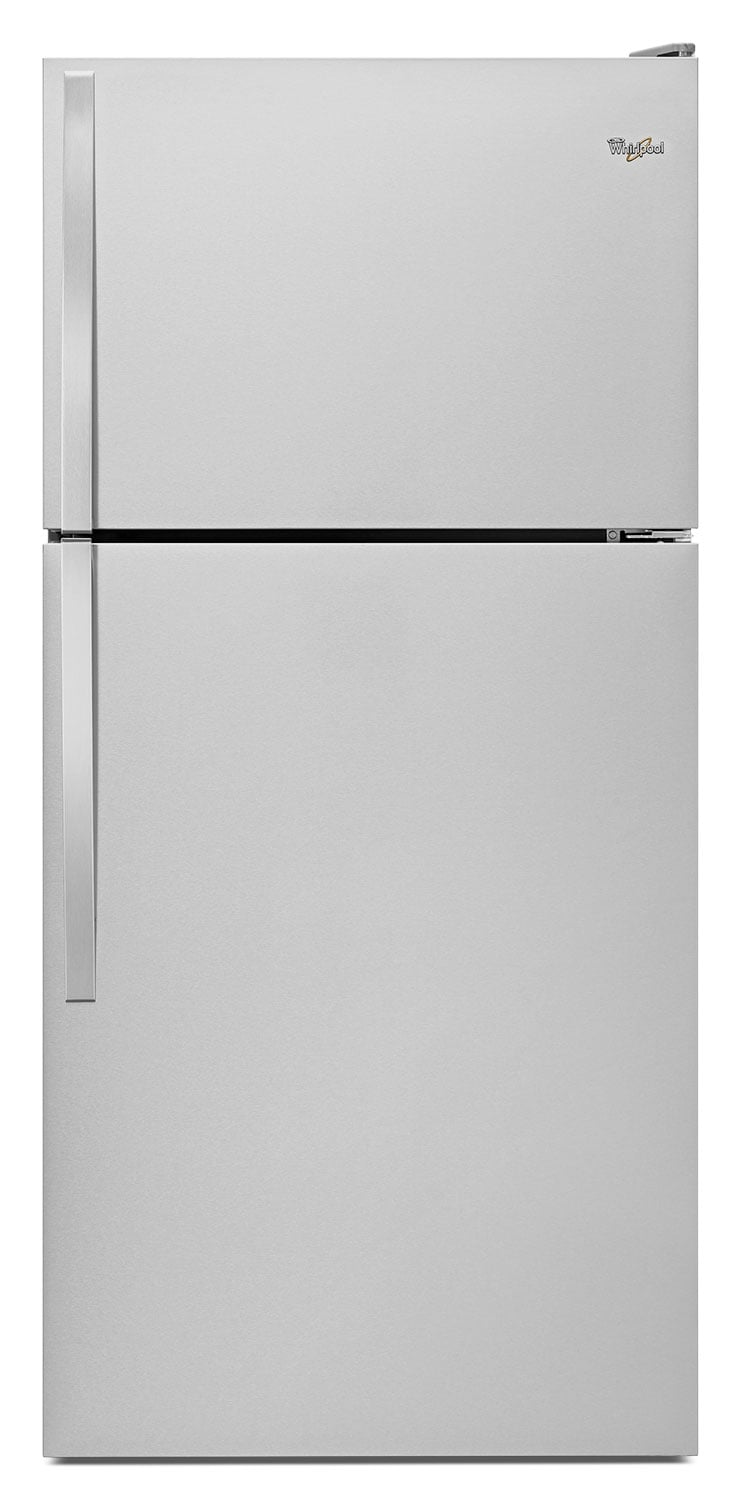 Refrigerators and Freezers - Whirlpool Stainless Steel Top-Freezer Refrigerator (18.25 Cu. Ft.) - WRT148FZDM