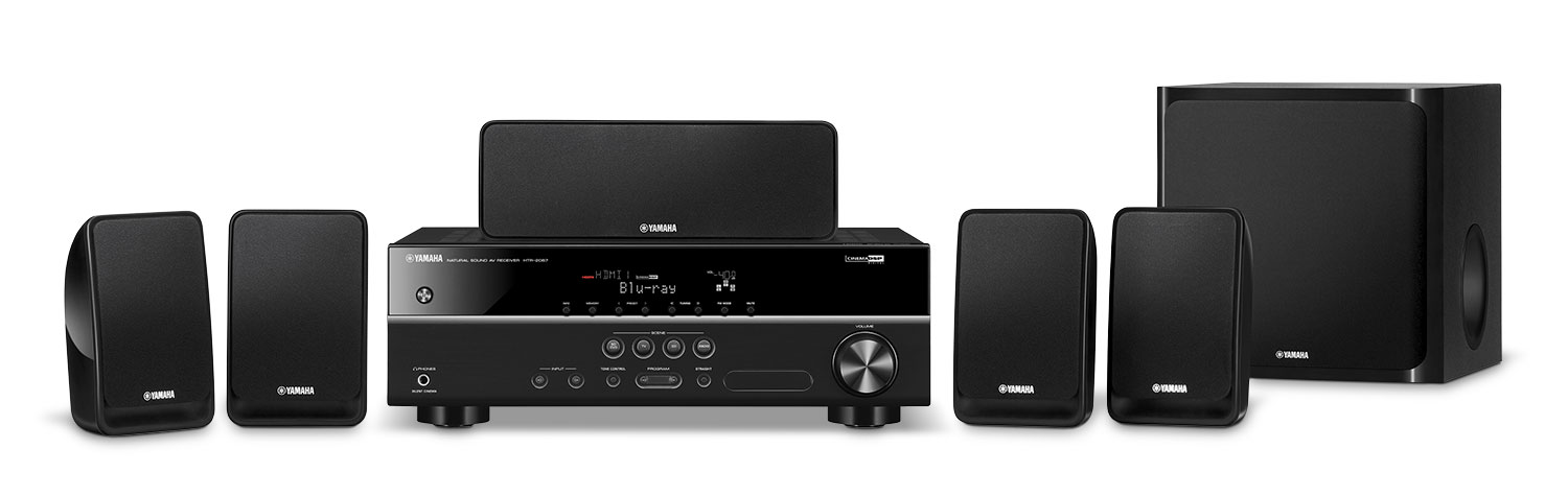 Sound Systems - Yamaha 5.1-Channel Home Theatre System