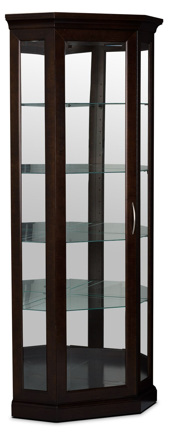 London Corner Display Cabinet