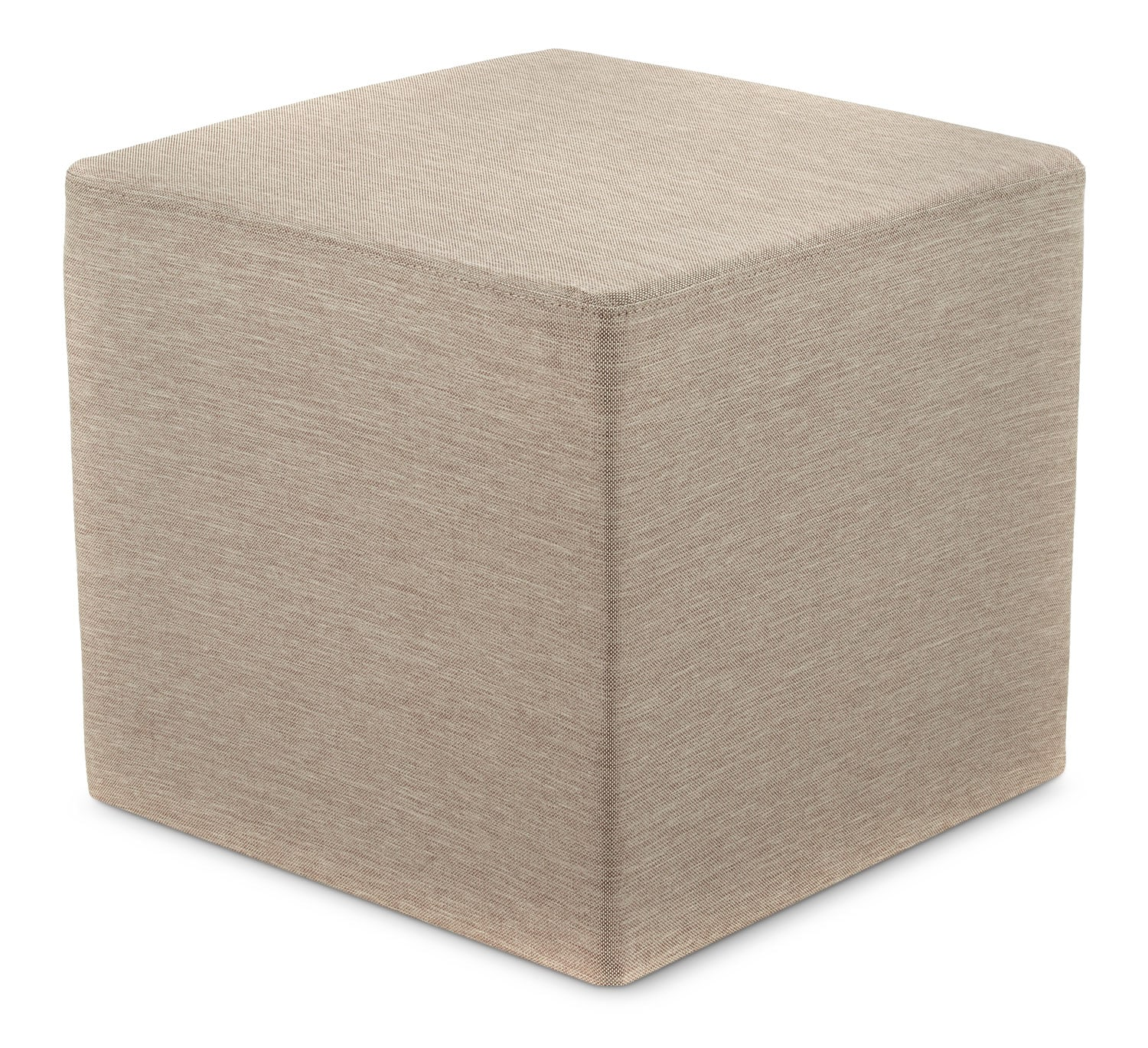Outdoor Furniture - Sasha Outdoor Ottoman - Beige