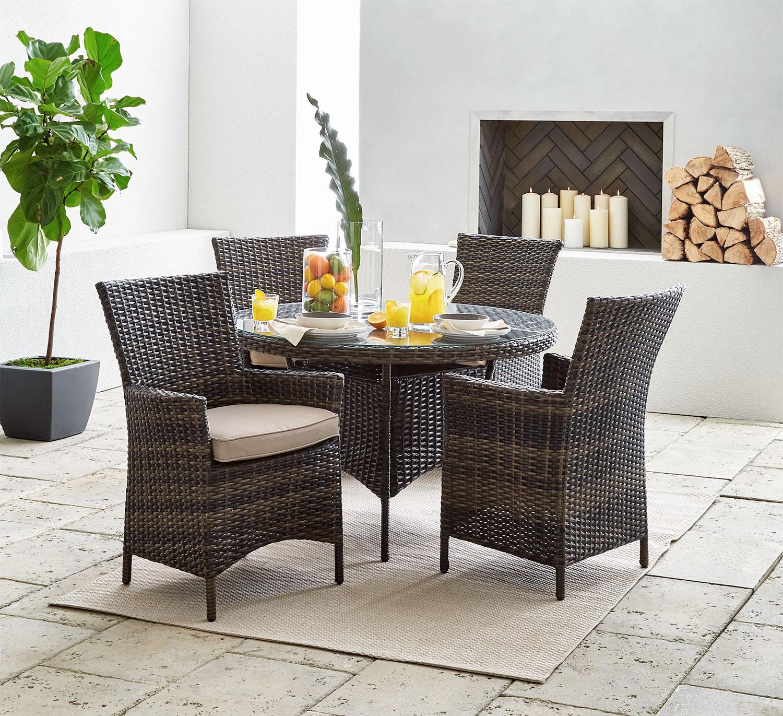 Outdoor Furniture - Palermo 5-Piece Patio Dinette
