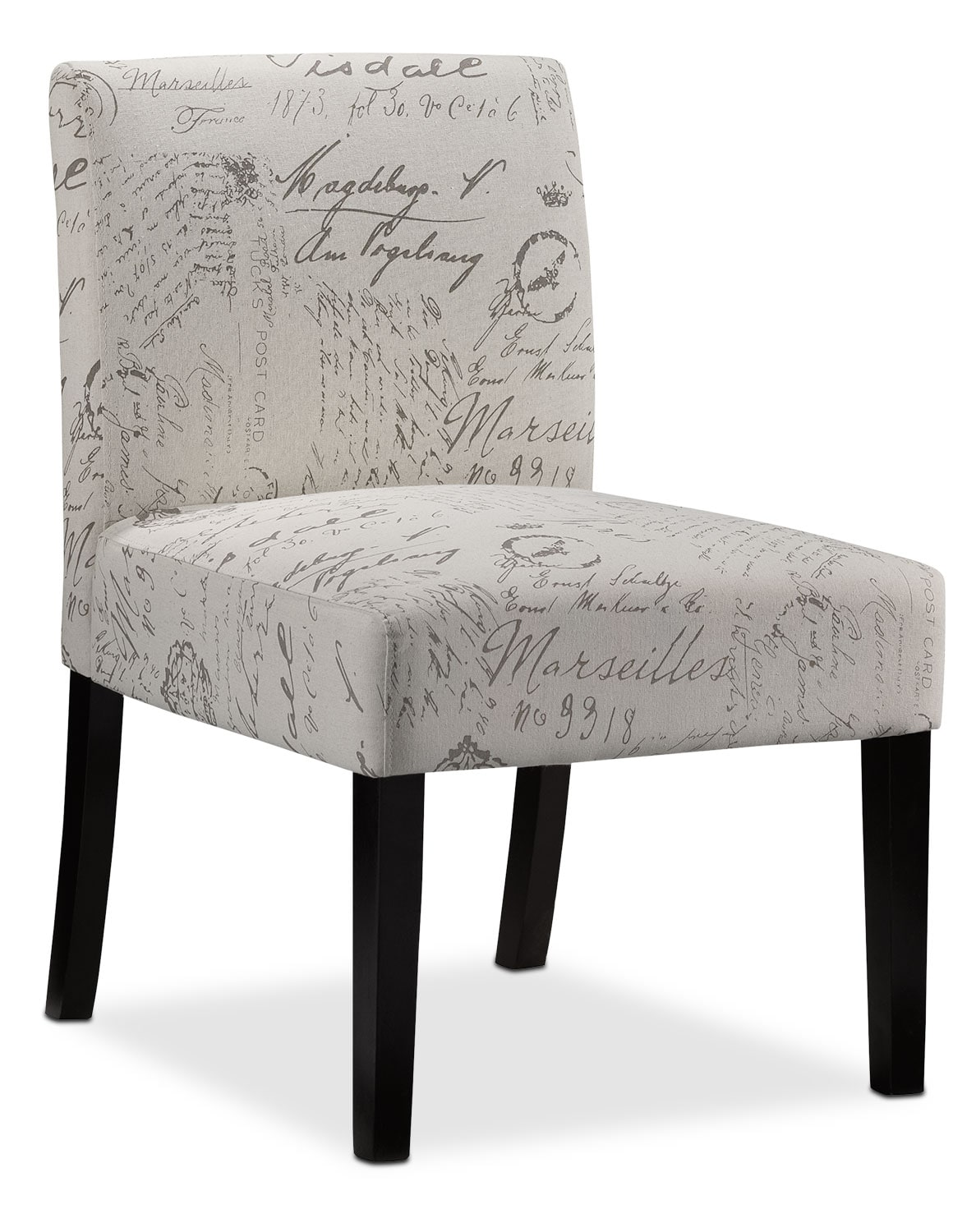 Living Room Furniture - Mariette Accent Chair