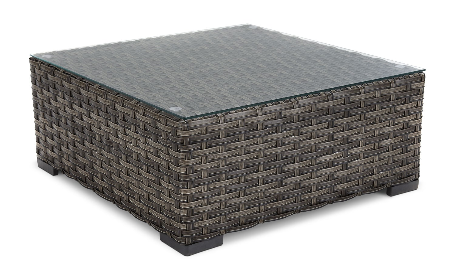 Outdoor Furniture - Newby Patio Coffee Table - Beige