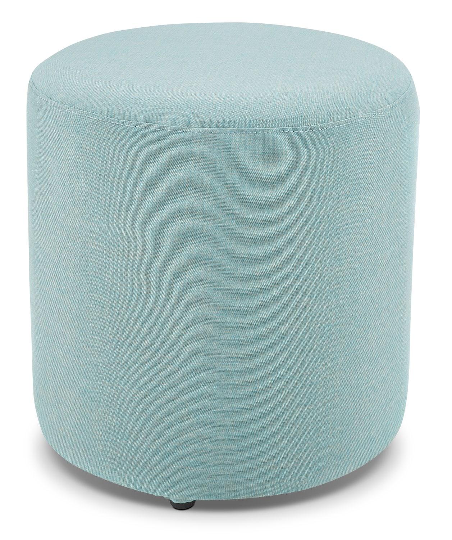 Outdoor Furniture - Renee Outdoor Ottoman - Blue