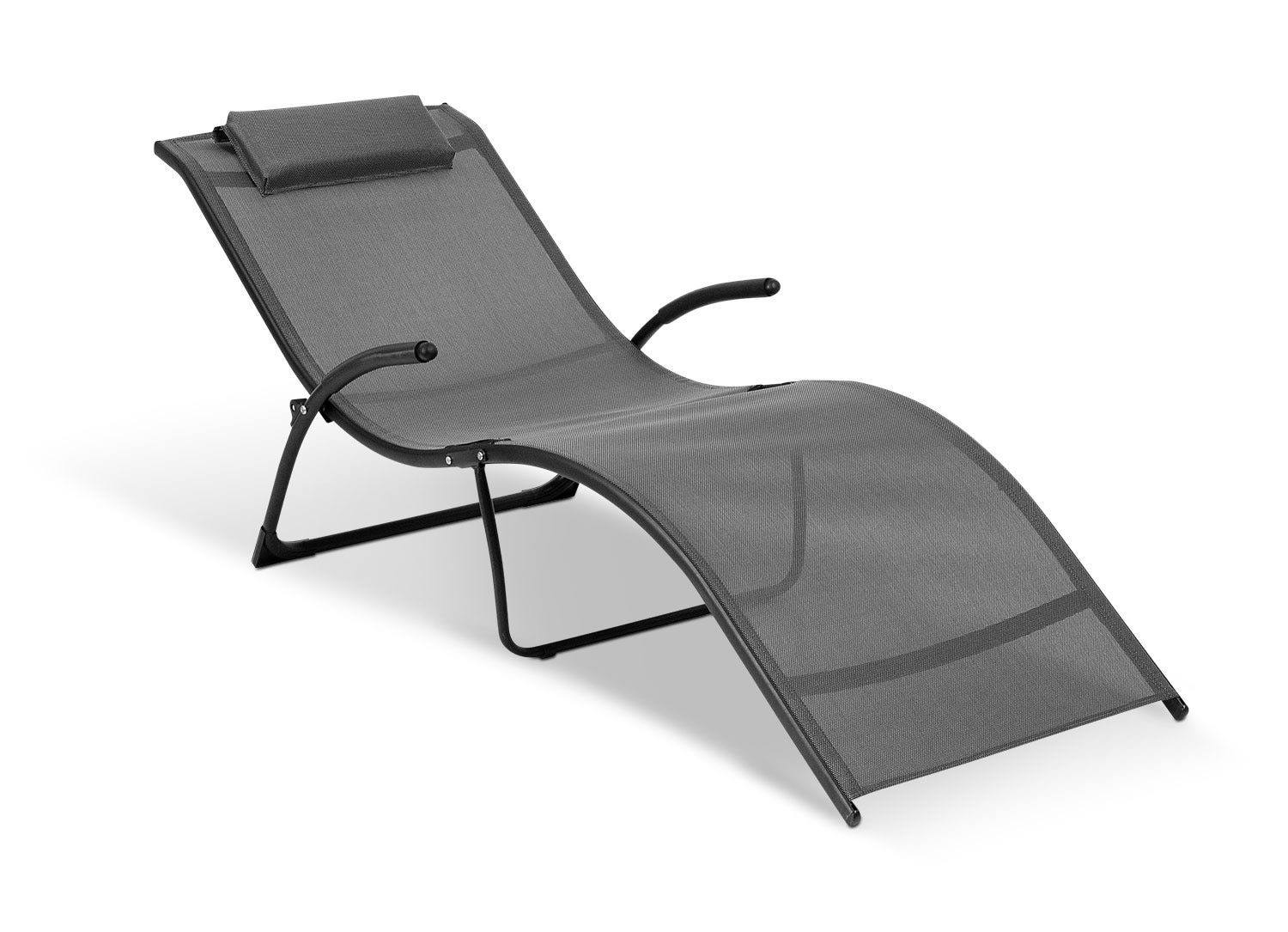Outdoor Furniture - Foldable Reclining Lounger