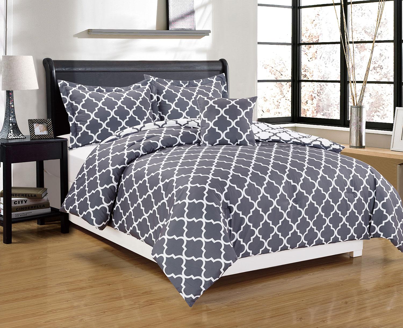 Mattresses and Bedding - Adeline 4-Piece Queen Comforter Set