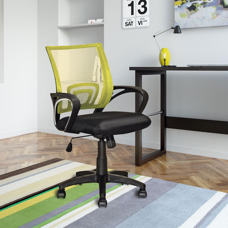 Loft Mesh Office Chair Yellow United Furniture Warehouse